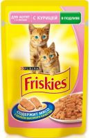 Friskies Junior с курицей 100гр
