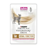 Purina NF Kidney Function Formula 85гр - диета для кошек на лососе, при патологии почек на лососе